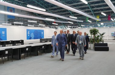 Фото: International Broadcast Center of the II European Games will work from 17th of June