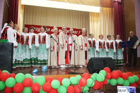 Polish culture day in Porozovo